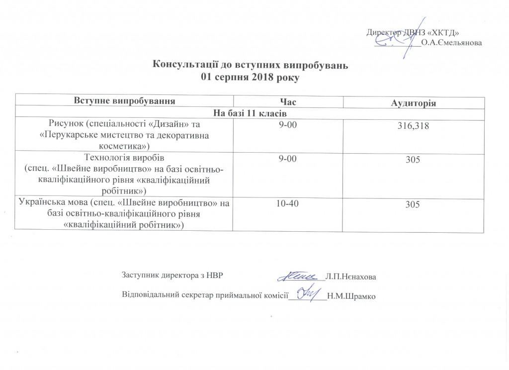 Консультації випроб. іспитів 01.08.18