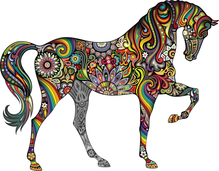 multi-color-horse-of-my-imagination